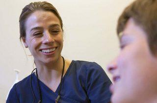Dr. Laura creates beautiful smiles